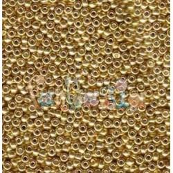 ROCAILLE 11/0 GALVANIZED GOLD - 1052- 10gr - MIYUKI