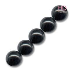 PERLE SWAROVSKI 5811 14 MM MYSTIK BLACK PEARL X 1pz