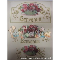 CARTA CLASSICA DECOUPAGE 29,7 x 42 - SWEET ROSE IS