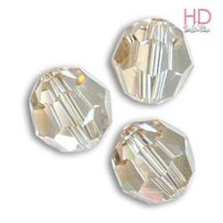 SFERE SWAROVSKI 5000 4mm Crystal Golden Shadow x 10pzz