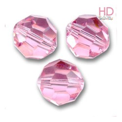 SFERE SWAROVSKI 5000 4mm Light Rose X 10pzz