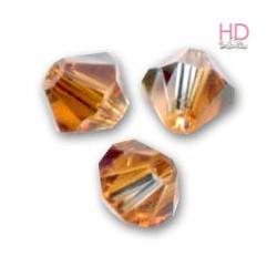 BICONO SWAROVSKI 5328 6mm Crystal Copper x 20pzz
