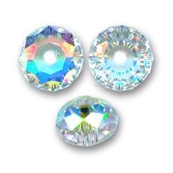BRIOLETTE SWAROVSKI 5040 12mm Crystal Aurora Boreale x 1pz