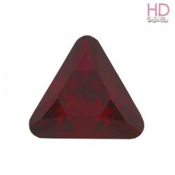 Triangolo Cabochon 4722  mm. 10 Siam Foiled 2 pzz