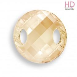 Cabochon da cucire 3221 mm. 18 Crystal Golden Shadow  1 pz