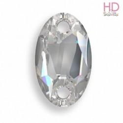 Cabochon da cucire 3231 mm. 28x17 Black Diamond 1 pz