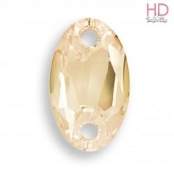 Cabochon da cucire 3231 mm. 23x14 Crystal Golden Shadow  1 pz