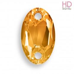 Cabochon da cucire 3231 mm. 28x17 Crystal Copper 1 pz