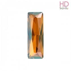 Cabochone Princess Baguette 4547 Crystal Copper Foiled 15 x 5mm - 1pz