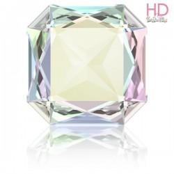 Cabochone Quadrato 4675 Crystal Aurora Boreale 23x23mm - 1pz