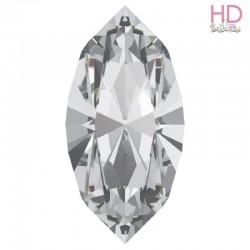 Cabochone Navetta 4200/2 Crystal 15x7mm - 1pz