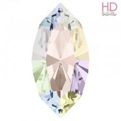 Cabochone Navetta 4200/2 Crystal Aurora Boreale15x7mm - 1pz