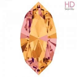 Cabochone Navetta 4200/2 Crystal Copper 15x7mm - 1pz