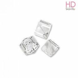 Cubo foro diagonale Swarovski 5600 mm. 4 Crystal x 1pz
