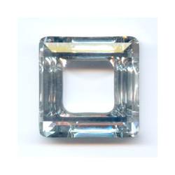 Quadrato Swarovski 4439 Crystal cal 20 mm  x 1pz