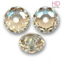 BRIOLETTE SWAROVSKI 5041 18mm Crystal Golden Shadowl x 1pz