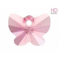 Farfalla Swarovski 6754 mm. 18 Light Rose x 1pz