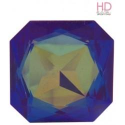 Cabochone Quadrato 4675 Crystal Heliotrope 23x23mm - 1pz