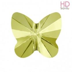 Farfalla Swarovski 5754 mm. 8 Jonquil x 1 pz