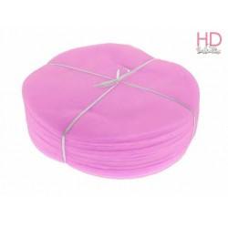 Tondo in tulle rosa x 25pz