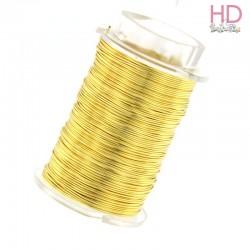 Filo col. oro 0,40mm - bobina 50gr x 1Pz