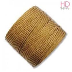 Filo Miyuki S-Lon Bead Cord GOLD 0.50 mm x 70mt