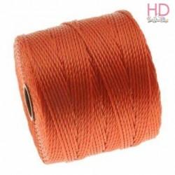 Filo Miyuki S-Lon Bead Cord PUMPKIN 0.50 mm x 70mt