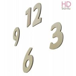 Conf. NUMERI ARABI 3-6-9-12 h. 2,0 cm