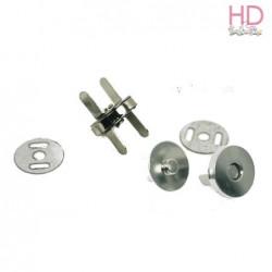 Conf. 4 calamite argento a incastro per borsa