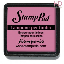 Tampone pigmento per timbri 2,5x2,5 cm - Rosa