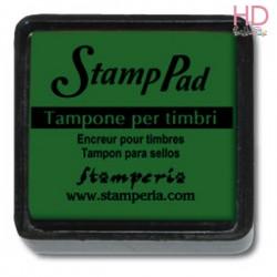 Tampone pigmento per timbri 2,5x2,5 cm - Verde Scuro