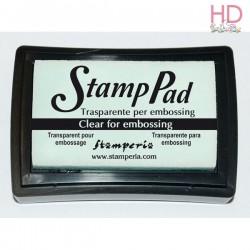 Tampone pigmento trasparente grande per Embossing