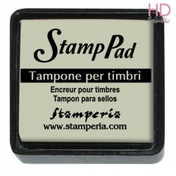 Tampone pigmento per timbri 2,5x2,5 cm - Tortora