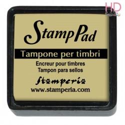 Tampone pigmento per timbri 2,5x2,5 cm - Avorio scuro