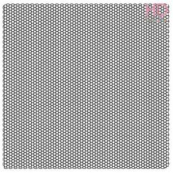 Timbro Acrilico cm. 10x10 - Nido D'ape