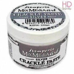 CRACKLE' PASTE MONOCOMPONENTE ARGENTO 150ml