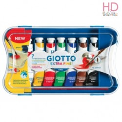 TEMPERA ACRILICA EXTRAFINE 7 TUBETTI 12ML - FILA - GIOTTO