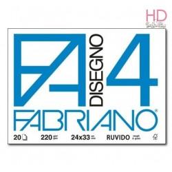 ALBUM DA DISEGNO - 20 FOGLI - RUVIDO 24x33CM - FABRIANO