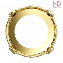 Chatone per  Rivoli 1122 12 mm color oro