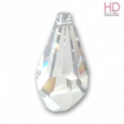 Goccia Poligona Swarovski 6015 50 mm Crystal x 1pz