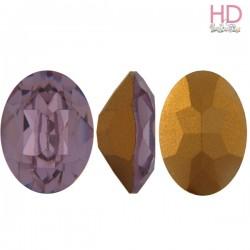 Cabochon Ovale 4130/2 12x10 mm Light Amethyst con castone x 1 Pz