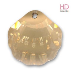 Mezza Luna Swarovski 6722 16 mm Crystal Golden Shadow x 1pz