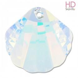 Conchiglia Swarovski 6723 28 mm Crystal Aurora Boreale x 1pz