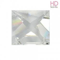 Square Stones Swarovski 8024 13 mm 4 fori Crystal  x 1pz