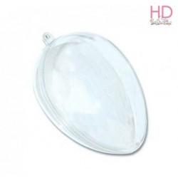Uovo trasparente apribile 6x4 cm 1pz