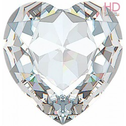 Cabochone cuore 4813/3 Crystal 10x8 mm - 1pz