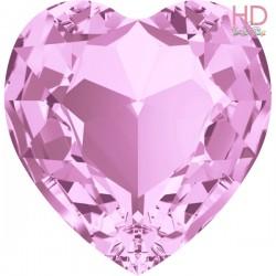 Cabochone cuore 4813/3 Rose 10x8 mm - 1pz