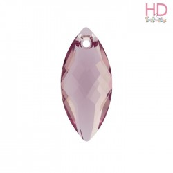 Pendente Navette 6110 30x14 mm Light Amethyst x1