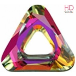 Triangolo Swarovski 4737 Crystal Vitral light mm 20 x 1pzz