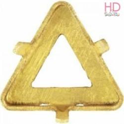 Castone per cabochone 4722 10mm color oro - 1pz